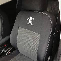 Чехлы в салон для Peugeot 3008  с 2009 г (модельные) (EMC-Elegant)