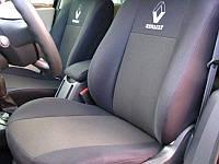 Чехлы в салон Renault Logan 2013- Чехлы на сидения Рено Логан (раздельный) (Prestige_Standart) модельные