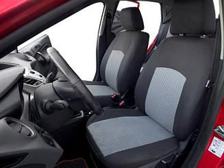 Чехлы в салон модельные Dacia Logan 2013(цельный) (Prestige_Premium)