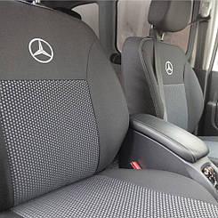 Чехлы в салон для Mercedes W201 190 с 1982-1993 г (модельные) (EMC-Elegant)