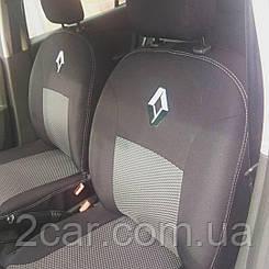 Чехлы в салон для Renault Logan Sedan с 2007-13 г (модельные) (EMC-Elegant)