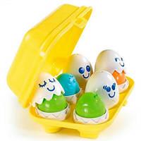 Tomy Забавные яица развивающая игрушка для моторики для малышей