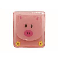 Уценка Мыло твердое Animal Pig- подтаявший угол