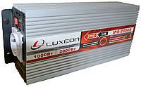 Инвертор напряжения Luxeon IPS-2000S (1000Вт), чистая синусоида, преобразователь 12 в 220
