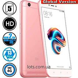 Смартфон Xiaomi Redmi 5A 2/16Gb Rose Gold (Global Version)