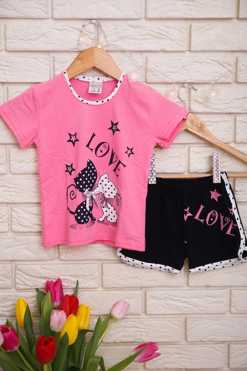 Пижама  для девочек с шортами   Nicoletta 85276