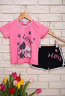 Пижама  для девочек с шортами   Nicoletta 85276, фото 1