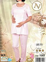 Комплект с брюками  для  беременных и кормящих  Nicoletta  7263