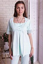 Комплект домашний  с брюками  для  беременных и кормящих  Nicoletta  7264