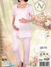 Домашний комплект  для  беременных и кормящих  Nicoletta  7264