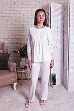 Пижама молочная  для  беременных и кормящих  Nicoletta  7273