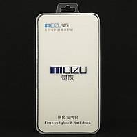 Защитное стекло Meizu M5C полноэкранное белое Box