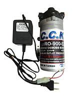 Насос для систем обратного осмоса RO-988-220 (с блоком питания и реле давления)