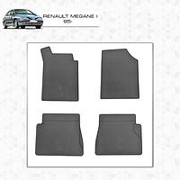 Renault megane 1 Оригинальные резиновые коврики стингрей