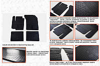 Fiat Sedici резиновые коврики Stingray Premium
