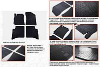 Geely MK Cross резиновые коврики Stingray Premium