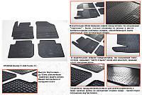 Kia Cerato 2012↗ резиновые коврики Stingray Premium
