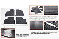 Lada Priora резиновые коврики Stingray Budget