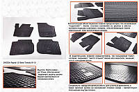 Skoda Rapid Резиновые коврики Stingray