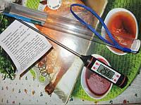 Кухонный термометр для мяса TP-101 (-50 ... +300 ºC) C функциями Hold, C/F и Max/Min (цвет: черный )