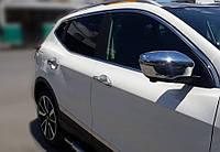 Renault Kadjar 2014 Накладки на ручки (4 шт., нерж.)