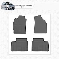 Chevrolet Spark резиновые полики Premium