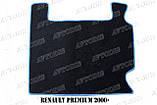 Renault Premium 2000 - ворсові килимки (сірий-синій) ЛЮКС, фото 10