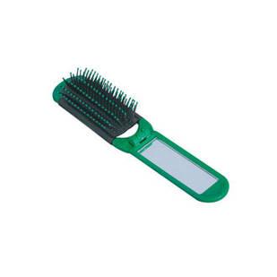 Щетка с зеркалом для волос (раскладная) массажная 12шт / уп.