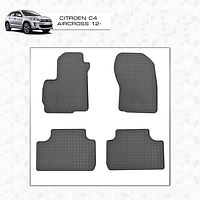 Citroen C4 Aircross резиновые коврики Stingray Premium