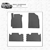 Geely Emgrand X7 резиновые коврики Stingray Premium