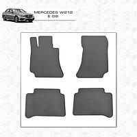 Mercedes E W211 резиновые коврики Stingray Premium