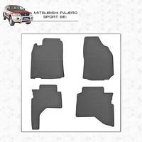 Mitsubishi Pajero Sport 1996-2008 резиновые коврики Stingray Premium
