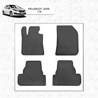 Peugeot 308 2014↗ резиновые коврики Stingray Premium