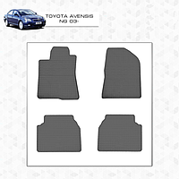 Toyota Avensis 2003-2009 Резиновые коврики Stingray