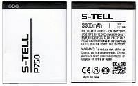 Аккумулятор S-TELL P750 (3300 mAh). Батарея С-Телл P750. Original АКБ (новая)