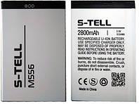 Аккумулятор S-TELL M556 (2800 mAh). Батарея С-Телл М556. Original АКБ (новая)