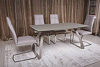 Стол обеденный London Мокко керамика (Nicolas TM)