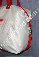Женская спортивная сумка Converse 013259 белая с красным