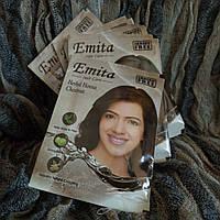 Краска для волос на основе хны Эмита каштан, Hair color Emita Chestnut, 60г