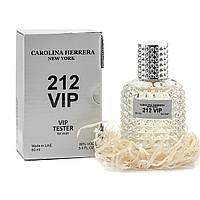 Мужской тестер VIP Carolina Herrera 212 Vip Men, 60 мл