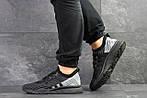 Мужские кроссовки Adidas Equipment adv 91-18 (черно-серые), фото 2