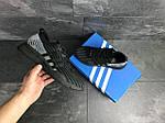 Мужские кроссовки Adidas Equipment adv 91-18 (черно-серые), фото 4