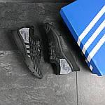 Мужские кроссовки Adidas Equipment adv 91-18 (черно-серые), фото 5