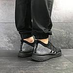 Мужские кроссовки Adidas Equipment adv 91-18 (черно-серые), фото 6