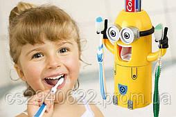 Держатель для Зубных Щёток Minion Wash Kit Миньон