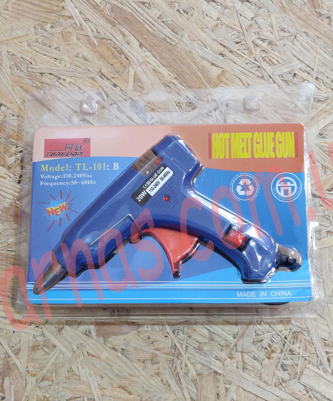 Пистолет клеевой Shun Xin HE-20w (C-46)