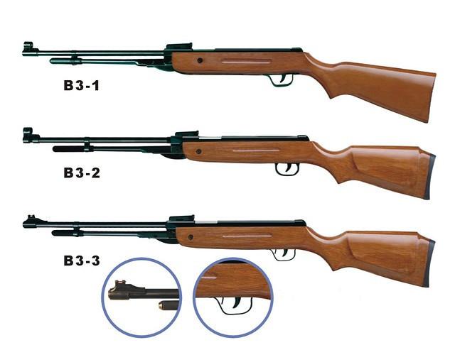 Пружинно-поршневая винтовка AIR RIFLE B3-2