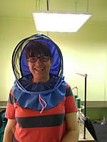 Маска ЕВРО(воротник) с заклепкой для пчеловодов