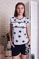 Комплект футболка и шорты  женский летний  Nicoletta 80853, фото 1