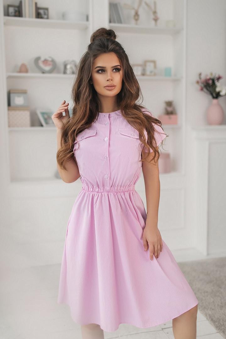 Платье летнее  Ткань коттон   с,м,л,хл   Цвета - на фото